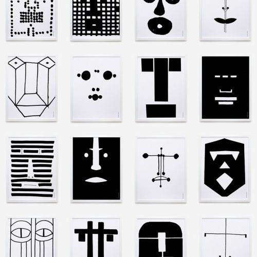 Faces | Complete set