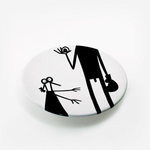 Ceramic plate | Boxer