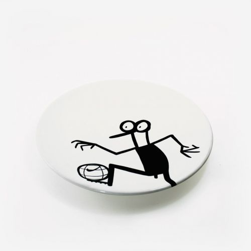 Ceramic plate | Football