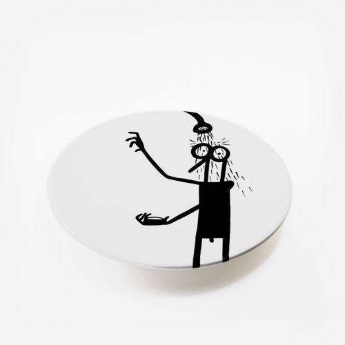 Ceramic plate | Shower